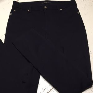7 for all mankind knit black stretch pants 26